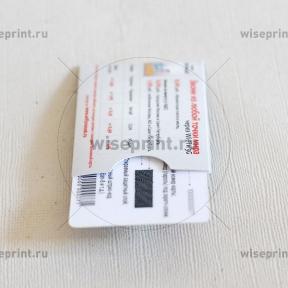 промо карточка в конверте