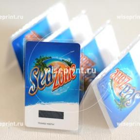 Карточки с упаковкой в пакетики